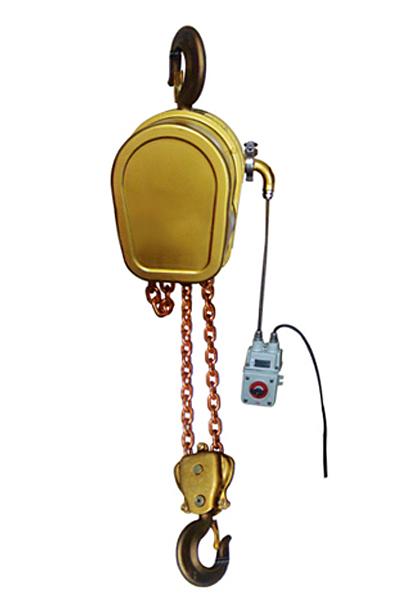 防爆铜质环链葫芦