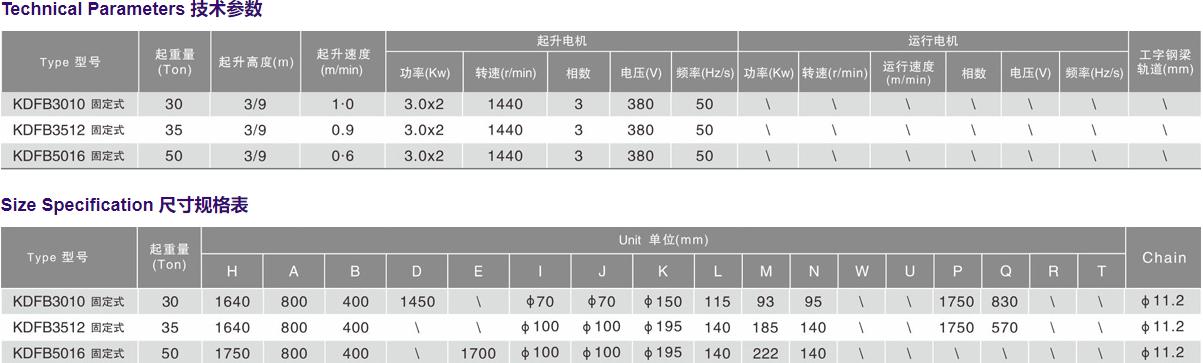 防爆型30-50T(固定式)